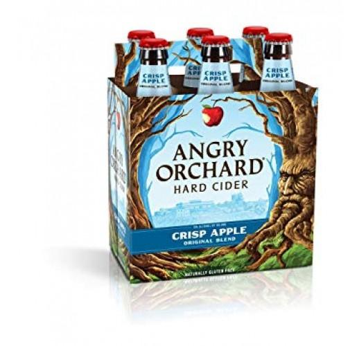 ANGRY ORCHARD CRISP APPLE CIDER 12OZ CASE