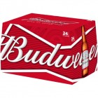 BUDWEISER BOTTLES 12OZ CASE/24