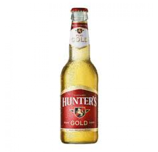 HUNTERS GOLD 330ML CASE/24