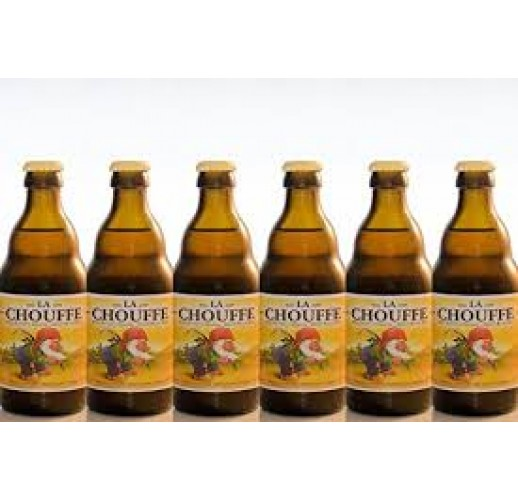 LA CHOUFFE BLONDE BELGIAN BEER 330ML