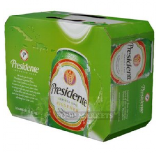 PRESIDENTE CANS 12OZ CASE/24