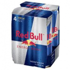 RED BULL ENERGY DRINK CANS 250ML 4PK