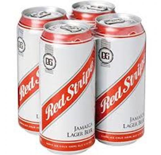 RED STRIPE CANS CASE/24