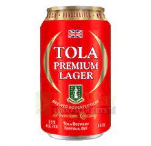 TOLA BEER PREMIUM LAGER 12OZ