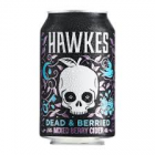 HAWKES DEAD & BERRIED MIXED BERRY CIDER CANS 330ML 24 CS